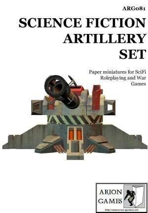 SciFi Artillery Set