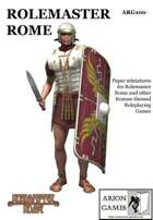 Rolemaster Rome Paper Miniature Set