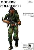 Modern Soldiers II Set
