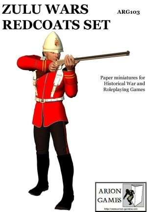 Zulu Wars Redcoats Set