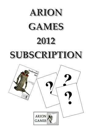Arion Games 2012 Paper Mini Subscription