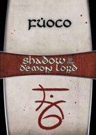 Shadow of the Demon Lord: Carte Magia FUOCO