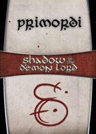 Shadow of the Demon Lord: Carte Magia PRIMORDI