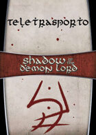 Shadow of the Demon Lord: Carte Magia TELETRASPORTO