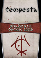 Shadow of the Demon Lord: Carte Magia TEMPESTA