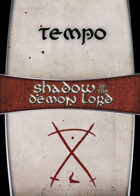 Shadow of the Demon Lord: Carte Magia TEMPO