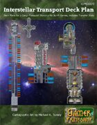 Interstellar Cargo Transport Ship Deck Plans