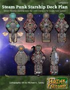 Steam Punk Starship Deck Plans