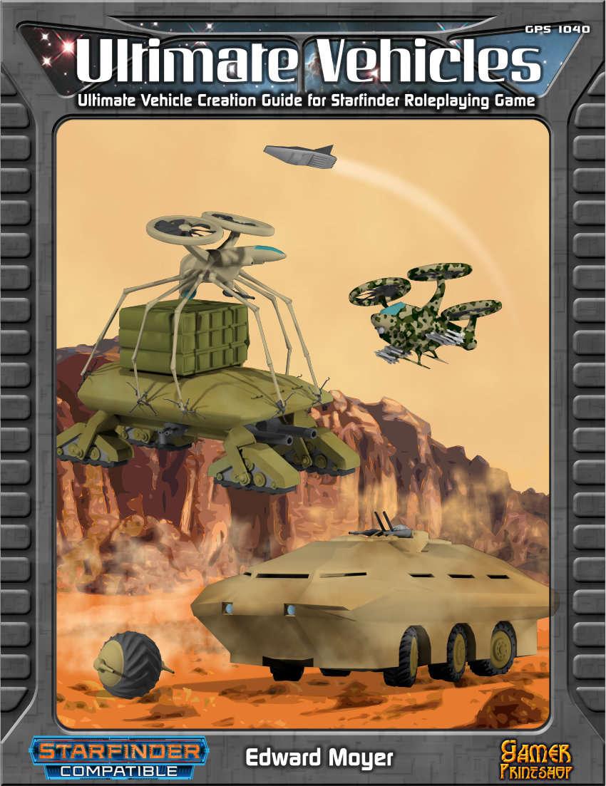 ultimate vehicles vehicle creation rules gamer printshop