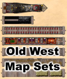 Old West Map Sets