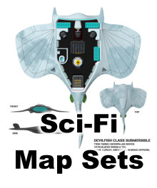 Sci-Fi Map Sets