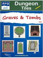 Dungeon Tiles - D02 - Graves & Tombs