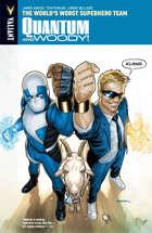 Quantum and Woody! Volume 1: The World's Worst Superhero Team