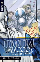 Quantum and Woody by Priest and Bright Volume 1: Klang