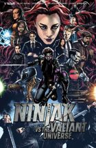 Ninjak Vs The Valiant Universe #1