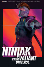 Ninjak Vs The Valiant Universe Trade
