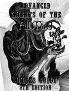 Advanced Knights of the All Mind Judges Guide 9th Edition