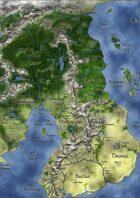 Geographia Orbis Terrarum - Uma map