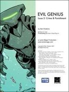Evil Genius #2: Crime & Punishment