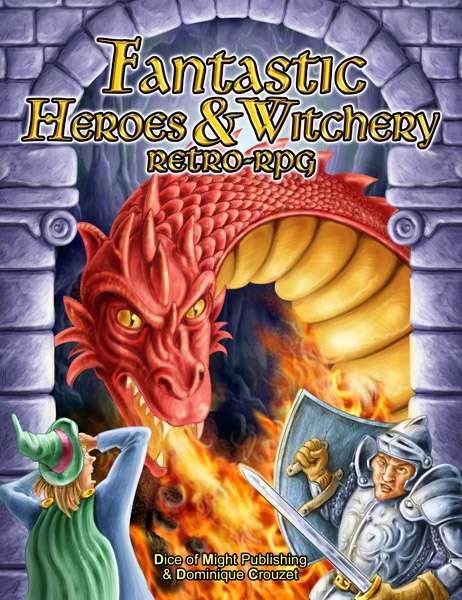 Fantastic Heroes & Witchery - DOM Publishing | DriveThruRPG com