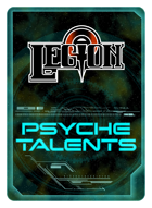 Legion Psyche Talent Cards