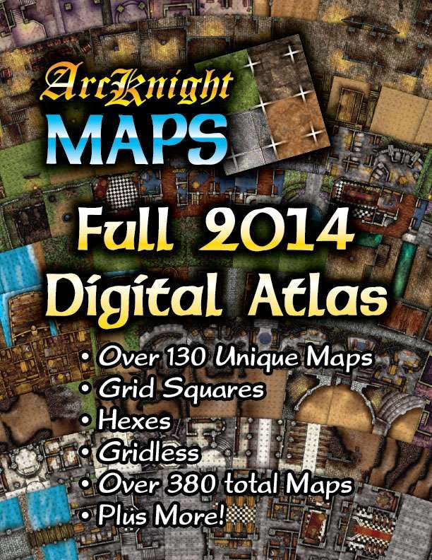 Arcknight Maps: 2014 Full Digital Atlas