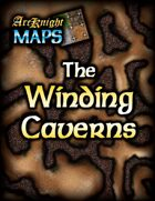 Arcknight Maps: The Winding Caverns