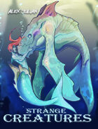 Strange Creatures: A Fantasy Coloring Book