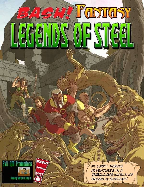 BASH Fantasy: Legends of Steel