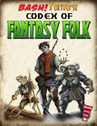 BASH! Fantasy: Codex of Fantasy Folk