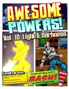 Awesome Powers Vol. 10: Light and Darkness Powers