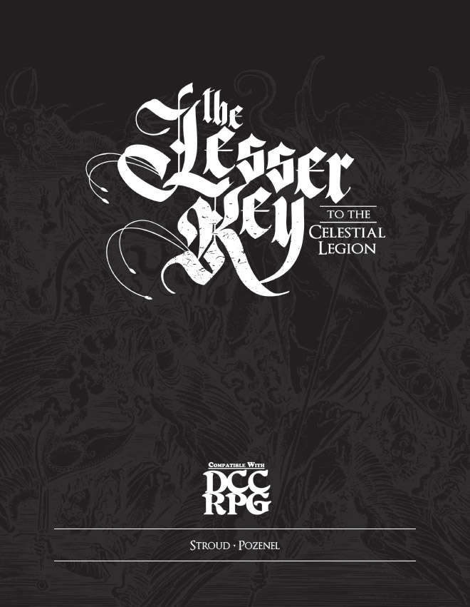 Lesser Key to the Celestial Legion