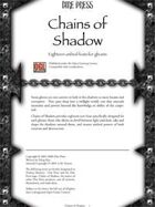 Chains of Shadow