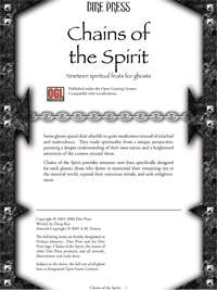 Chains of the Spirit