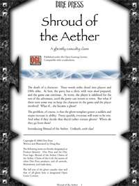 Shroud of the Aether