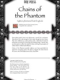 Chains of the Phantom