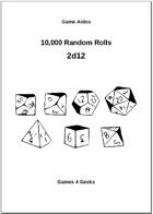 10,000 Random Rolls - 2d12