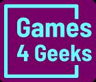 Games 4 Geeks logo