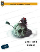 CSC Stock Art Presents: Skull and Spider