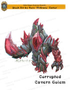 CSC Stock Art Presents: Corrupted Cavern Golem
