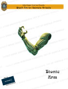 CSC Stock Art Presents: Bionic Arm