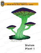 CSC Stock Art Presents: Bioluminescent Plant 1
