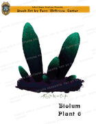 CSC Stock Art Presents: Bioluminescent Plant 6