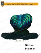 CSC Stock Art Presents: Bioluminescent Plant 9