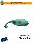 CSC Stock Art Presents: Silvertail Manta Doll