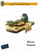CSC Stock Art Presents: Stone Tablet