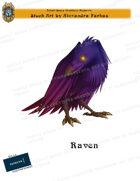 CSC Stock Art Presents: Raven