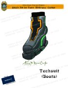 CSC Stock Art Presents: Techsuit (Boots)