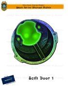 CSC Stock Art Presents: Scifi Door 1