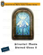 CSC Stock Art Presents: Silvertail Manta Stained Glass 2